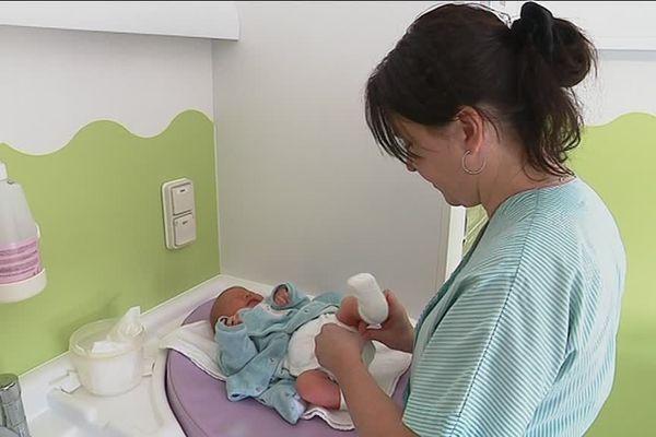 Depuis le 4 février, les couches lavables sont obligatoires à la maternité d'Alençon
