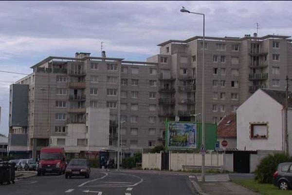 "Immeubles quartier ""Chicago"" au Havre"