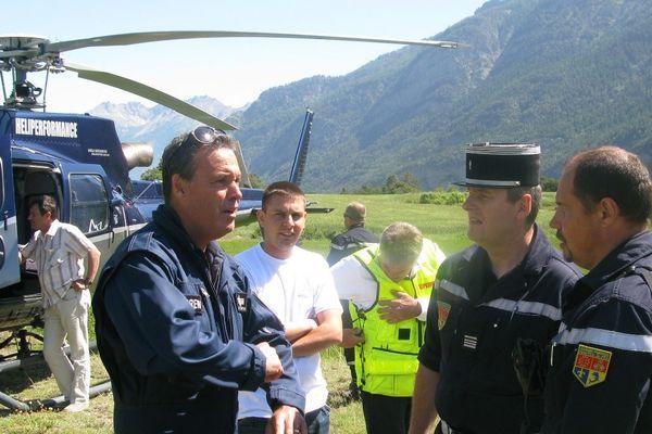 Au cours de l'été 2012, Pascal Oliviero travaillait avec les pompiers haut-alpins pour lutter contre les feux de forêt