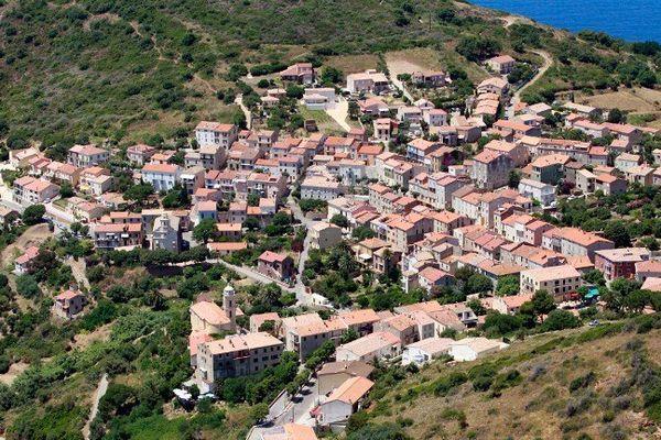 Une vue de Cargèse, en Corse du Sud