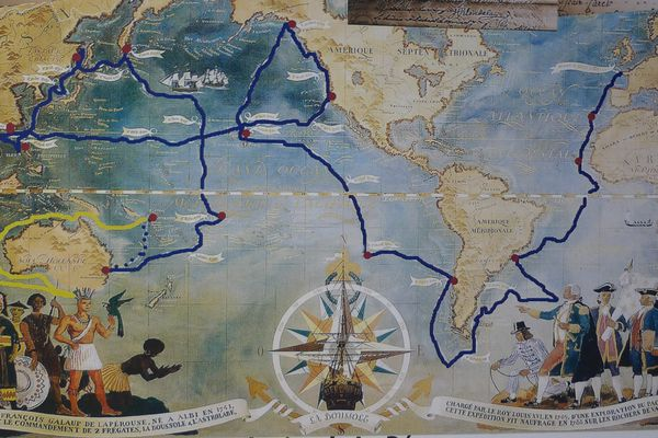 Partie de Brest en 1785, l'expédition Lapérouse disparaît mystérieusement 3 ans plus tard...