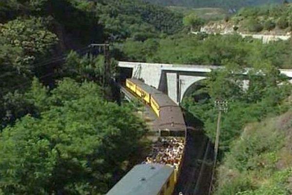 Le Train Jaune atteint son terminus à près de 1600 mètres d'altitude - archives