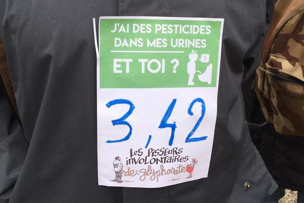 Le taux record de glyphosate des analyses réalisées dans le Tarn.