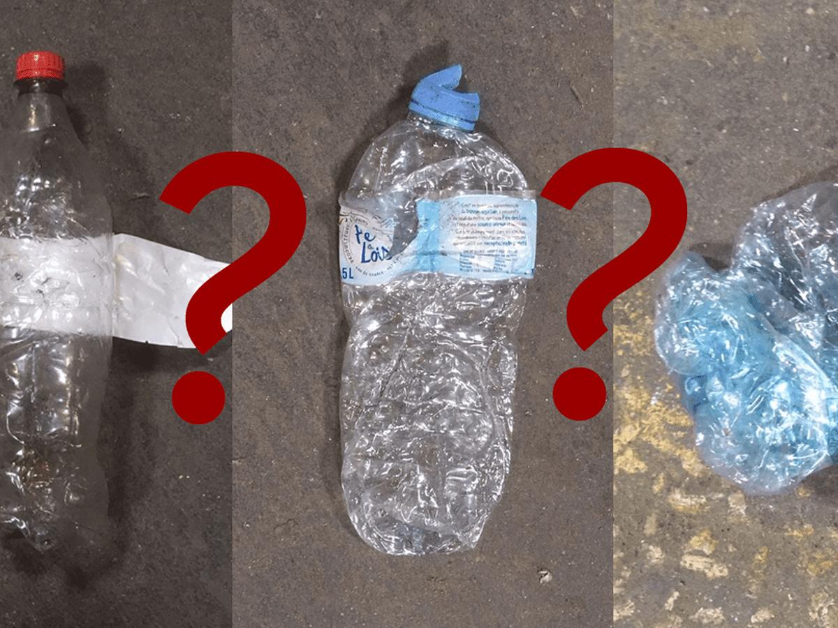Audacieux Tri sélectif : faut-il jeter sa bouteille plastique aplatie VH-33