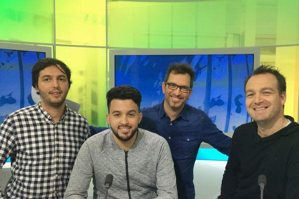 Autour d'Anthony Brulez, on retrouve David Phelippeau, Pierre-Hakim Ouggourni et Malik Taieb pour analyser cette rencontre.