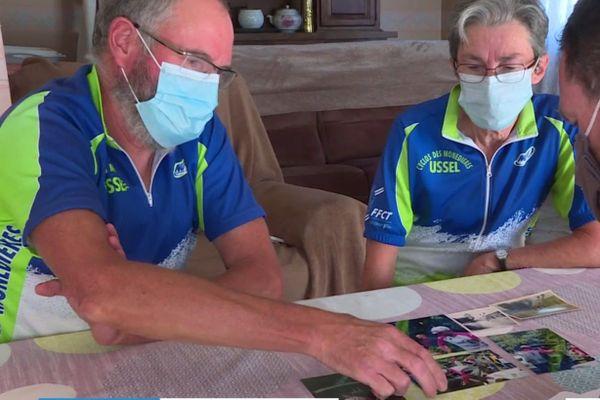 Bernard et Michelle sont des passionnés du Tour de France.