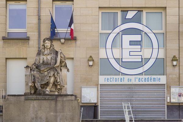 Le Rectorat à Reims