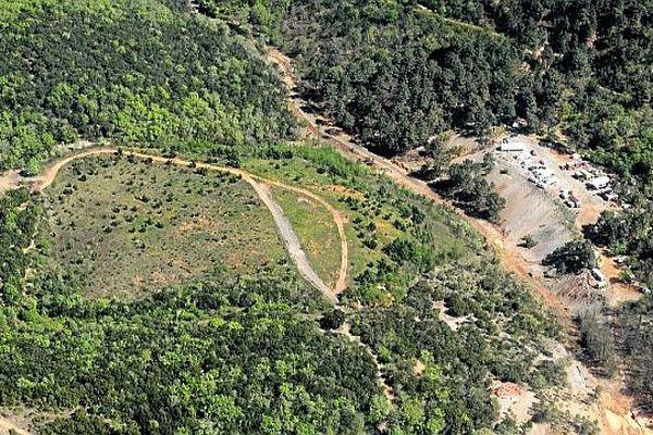 Saint-Félix-de-Pallières (Gard) - l'ancienne mine de fer - 2014
