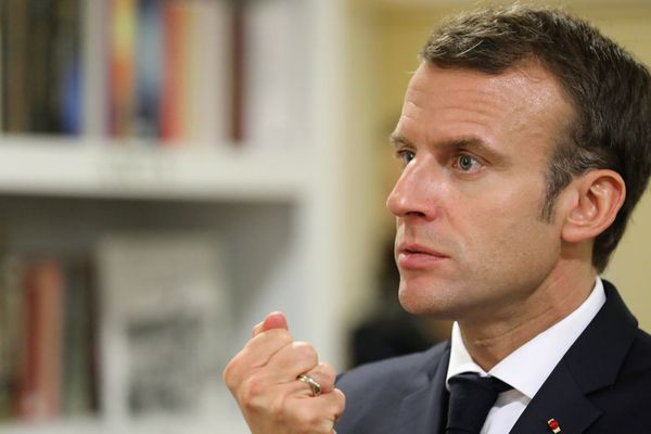 Emmanuel Macron, le 7 novembre 2018