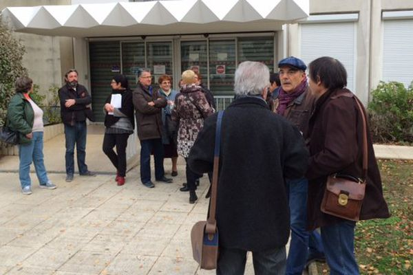 Les agents des impôts de Poitiers en grève ce mardi.