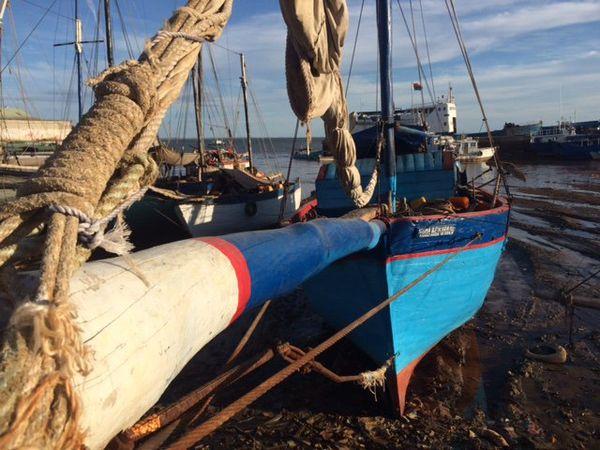 Le port aux boutres à Majunga