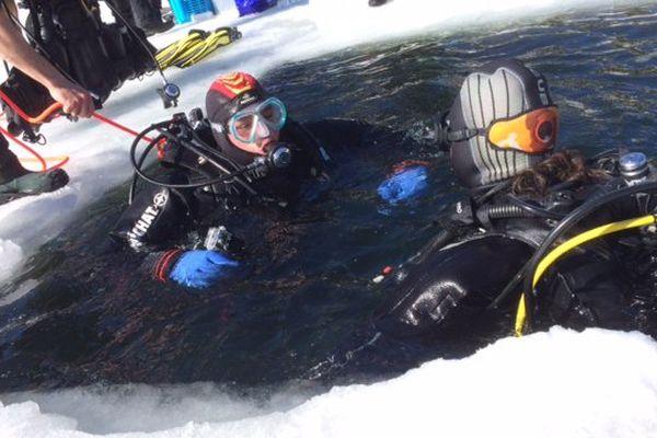 Un club de plongée aux Angles, dans les Pyrénées-Orientales propose d'explorer les fonds marins dans une eau glacée - 17 février 2017