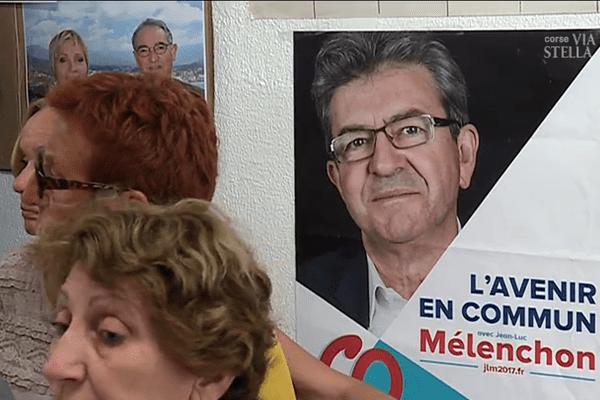 La France insoumise seule en campagne pour les législatives en Corse