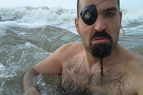 Patrick Ricolleau en pirate