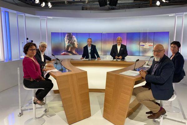 Toulouse - le débat des Départementales dans le Gers - 7 juin 2021.