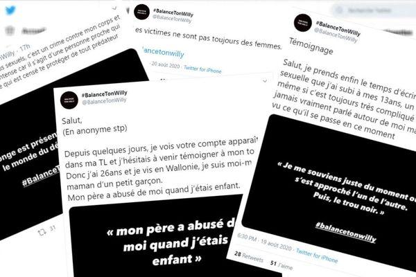 Belgique : on vous explique #BalancetonWilly, deuxième vague de témoignages d'agressions sexuelles sur Twitter