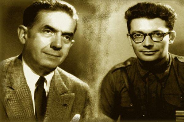 Edmond Michelet et Georges Guingouin : dès l'été 1940, ces deux Limousins appelèrent à la Réisstance contre l'occupant nazi.
