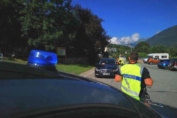 Un avion de tourisme s'est crashé dans le secteur du col du Glandon, en Savoie, le 5 août 2021.