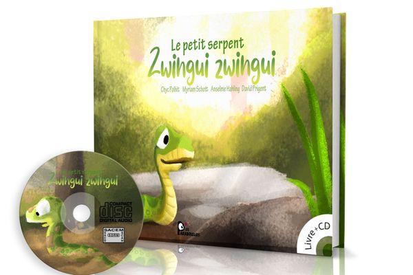 """Le public peut participer à la réalisation du prochain livre de fable """"zwingui le petit serpent"""" en faisant un don sur le site internet"""