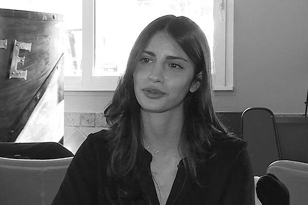 Lola, 21 ans, militante du mouvement En Marche! d'Emmanuel Macron