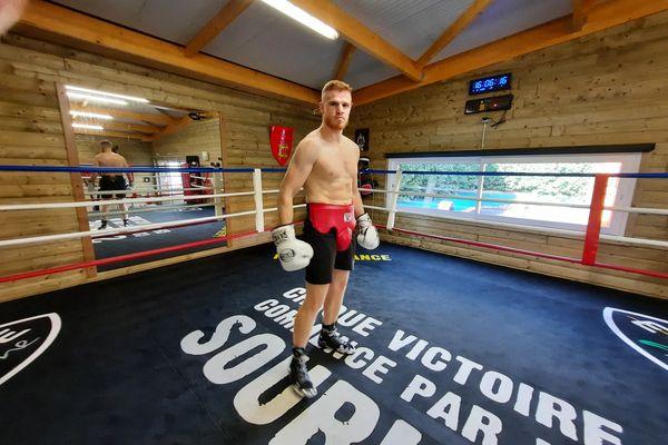 Maxime Beaussire a raccroché les gants et se prépare à devenir promoteur de combats de boxe