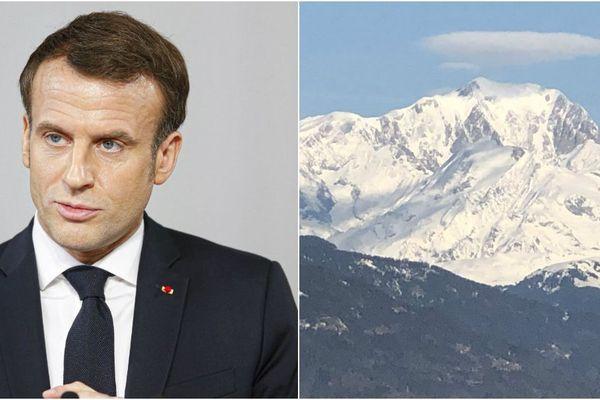 Emmanuel Macron sera en Haute-Savoie dès mercredi soir.