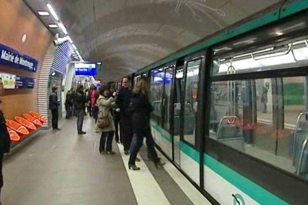 La station Montrouge, sur la ligne 4.