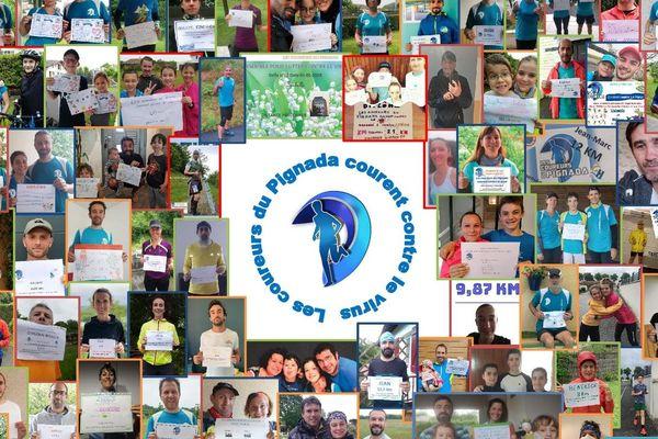 101 coureurs ont participé à ce relais en faveur de l'hôpital de Dax et de l'Ehpad communal.