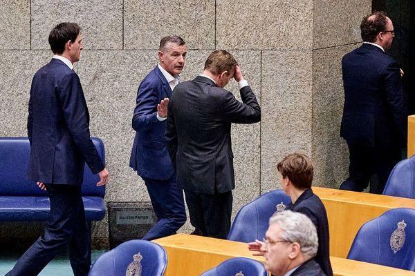 Le ministre néerlandais des Soins médicaux, Bruno Bruins, a fait un malaise mercredi au Parlement.