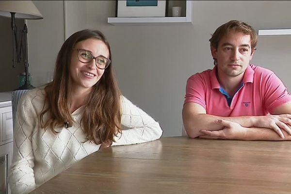 """Ludivine et Charles sont à l'origine de l'opération """"A leur santé"""" qui a permis de récolter 10 000 euros"""