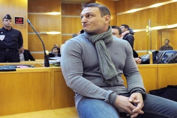 Montpellier - Nicolas Vizioz, ex-sergent du 3e RPIMa de Carcassonne sur le banc des accusés - 10 avril 2013.
