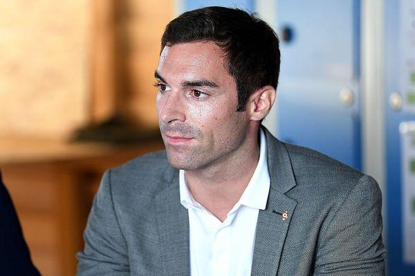 Julien Odoul en septembre 2020.