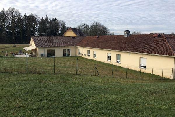 Le foyer d'accueil médicalisé Delta Plus à Rilhac-Rancon, en Haute-Vienne, confronté à un foyer de contaminsation Covid en janvier 2021.