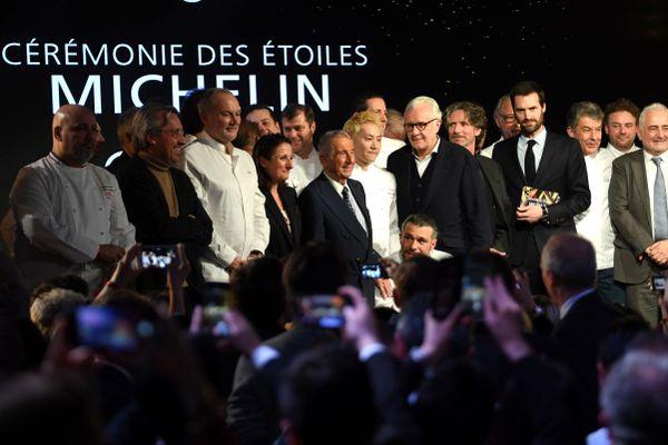 La cérémonie des Etoiles du Guide Michelin du 27 janvier 2020.