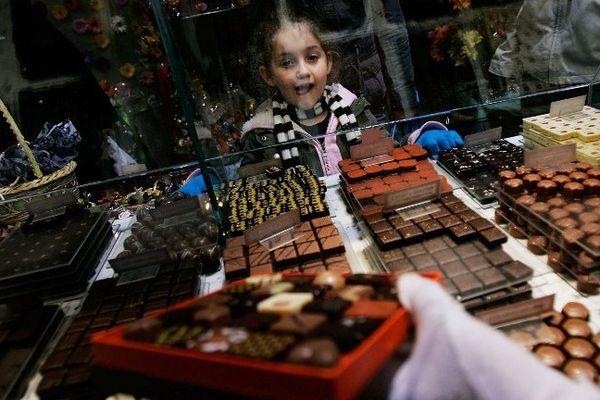 Lors des 3 jours du week-end de Pâques, on consomme 54 kilos de chocolat en France chaque seconde