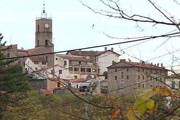 Saint-Laurent-de-Cerdans (Pyrénées-Orientales) - le village - 2017.