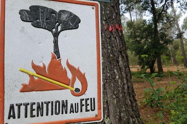 Attention aux feux. Photo d'illustration