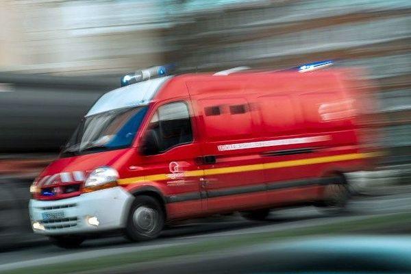 Voiture de pompiers-illustration