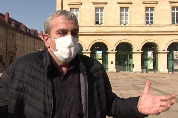 <p>Patrick Genre, maire de Pontarlier, Doubs</p>
