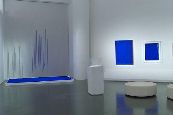 """""""Yves Klein a vraiment exploré le bleu parce que pour lui ça lui rappelle le ciel et l'infini""""."""