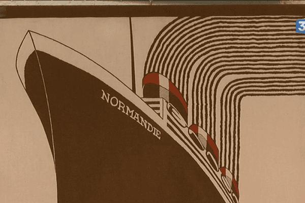 Le Normandie le grand paquebot de l'entre deux guerres.