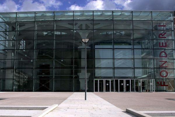 Façade du bâtiment de la Fonderie où est implanté la Kunsthalle, à Mulhouse