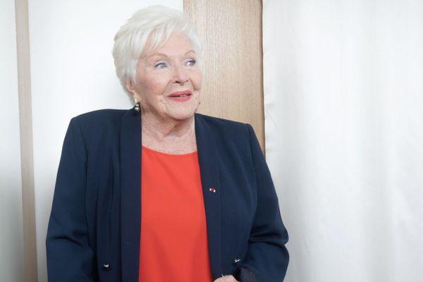 Line Renaud en décembre 2019.