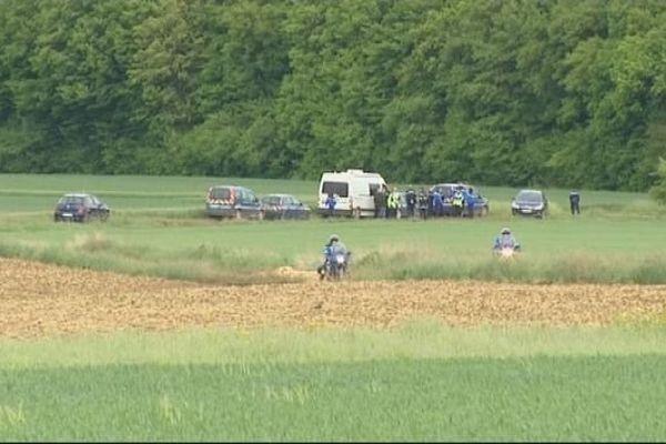 Crash du Mirage 2000 : les lieux sur la commune des Barroches