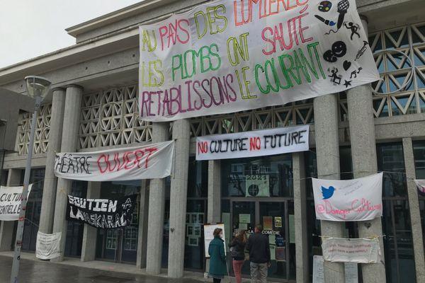 La Comédie de Clermont-Ferrand espère pouvoir ouvrir ses portes le 19 mai.