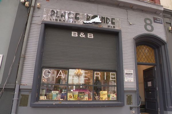 Malgré l'interdiction, la libraire a de nouveau ouvert ce mercredi 4 novembre