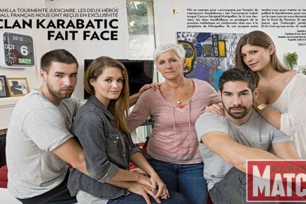 L'article sur le clan Karabatic de Paris-Match