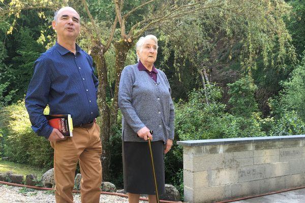 La mère de Marcelle, Blanche, a hébergé une famille de Juifs à Boisset dans le Cantal, durant la seconde guerre mondiale.