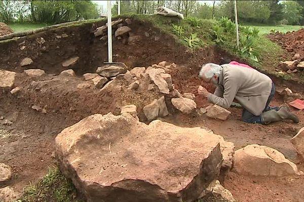 Les Fourgs, Haut-Doubs : fouilles archéologiques
