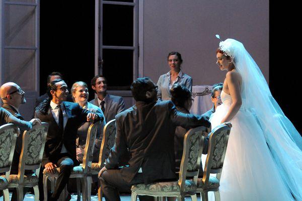 Les Noces de Figaro, un opéra mis en scène à Aix-en-Provence en 2012.